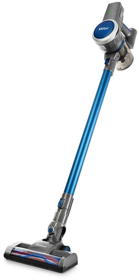 Ручной пылесос (handstick) KITFORT КТ-541-1, 800Вт, синий
