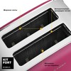Тостер KITFORT КТ-2014-5,  розовый/серебристый вид 3