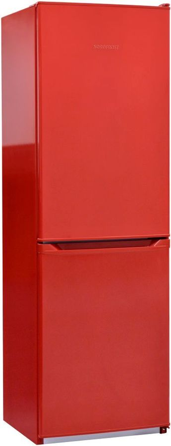 Холодильник NORDFROST NRB 119 832,  двухкамерный, красный [00000256556]