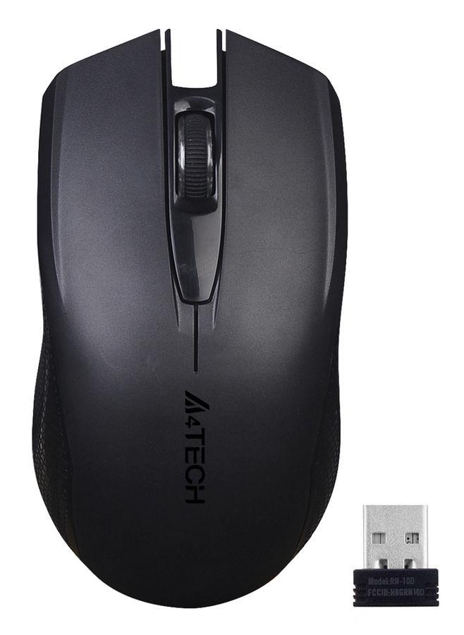 Мышь A4 V-Track G11-760N, оптическая, беспроводная, USB, черный
