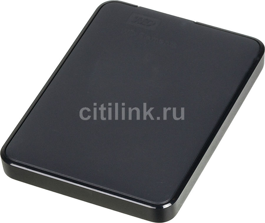 Внешний жесткий диск WD Elements Portable WDBMTM5000ABK-EEUE, 500Гб, черный