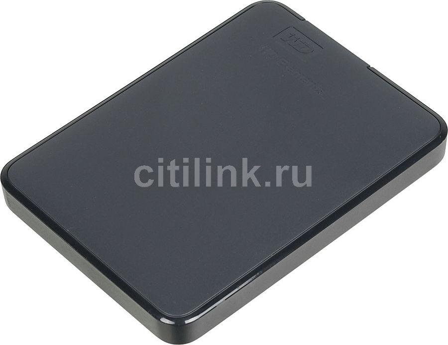 Внешний жесткий диск WD Elements Portable WDBMTM0020BBK-EEUE, 2Тб, черный