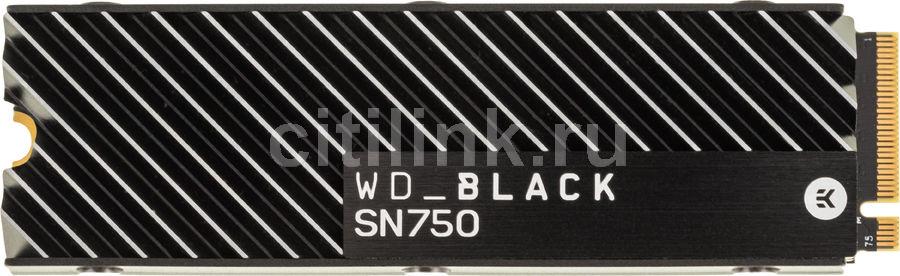 SSD накопитель WD Black WDS200T3XHC 2Тб, M.2 2280, PCI-E x4,  NVMe