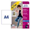 Термотрансфер Avery Zweckform MD1003 A4/4л./белый матовое для струйной печати вид 2