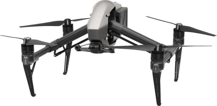 Квадрокоптер DJI Inspire 2 (L) без камеры,  серый