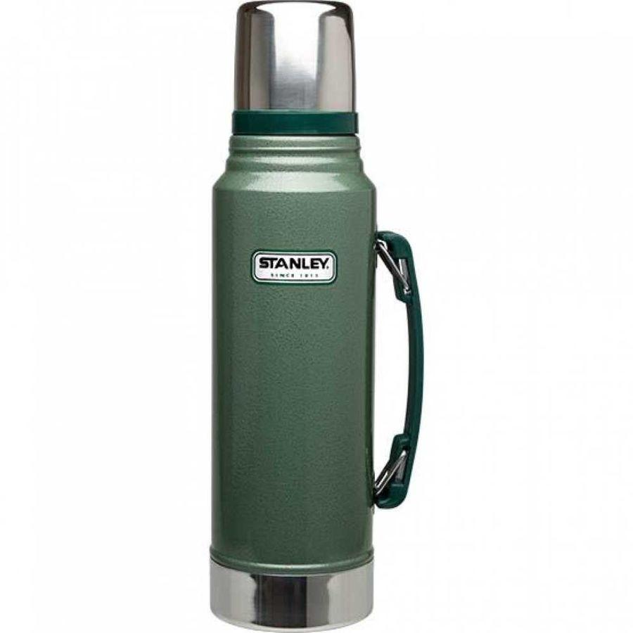 Термос STANLEY The Legendary Classic Bottle, 1л, зеленый