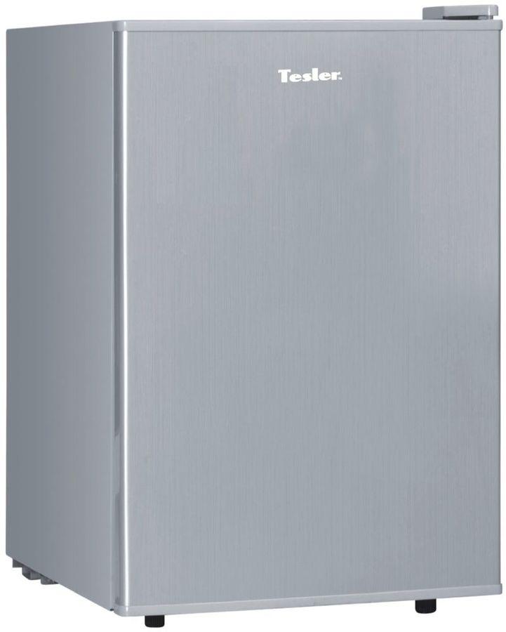 Холодильник TESLER RC-73,  однокамерный, серебристый