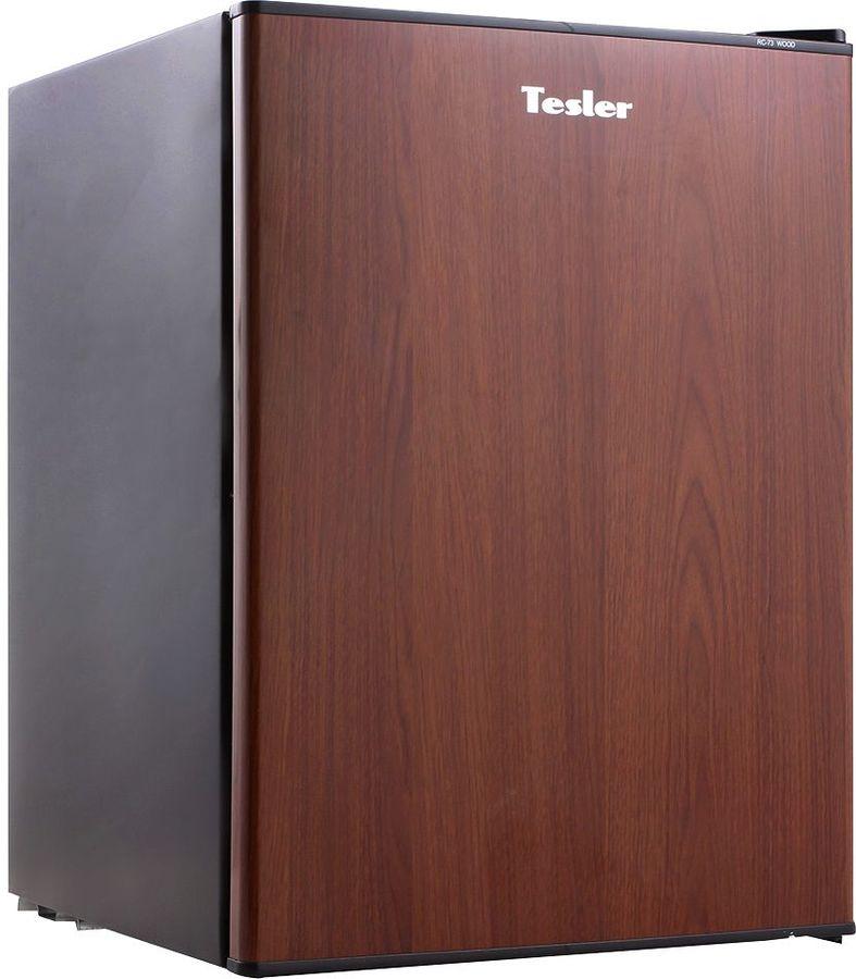 Холодильник TESLER RC-73,  однокамерный, коричневый