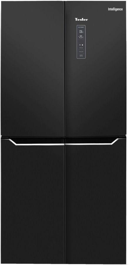 Холодильник TESLER RCD-480I,  двухкамерный, нержавеющая сталь