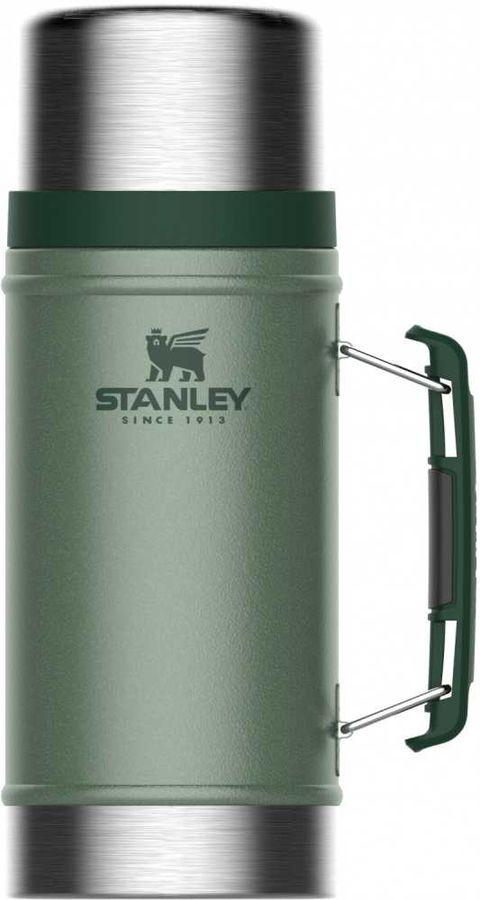Термос STANLEY The Legendary Classic Food Jar, 0.94л, зеленый
