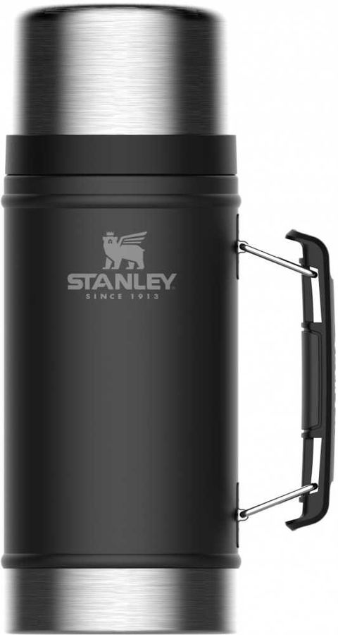 Термос STANLEY The Legendary Classic Food Jar, 0.94л, черный