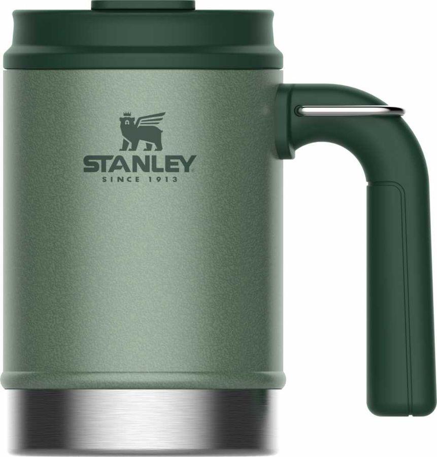 Термокружка STANLEY The Big Grip Camp Mug, 0.47л, зеленый
