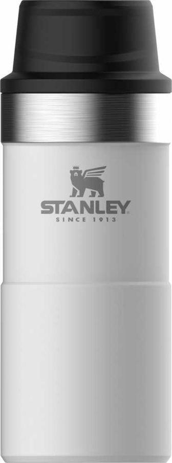 Термокружка STANLEY The Trigger-Action Travel Mug, 0.35л, белый