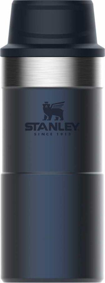Термокружка STANLEY The Trigger-Action Travel Mug, 0.35л, синий