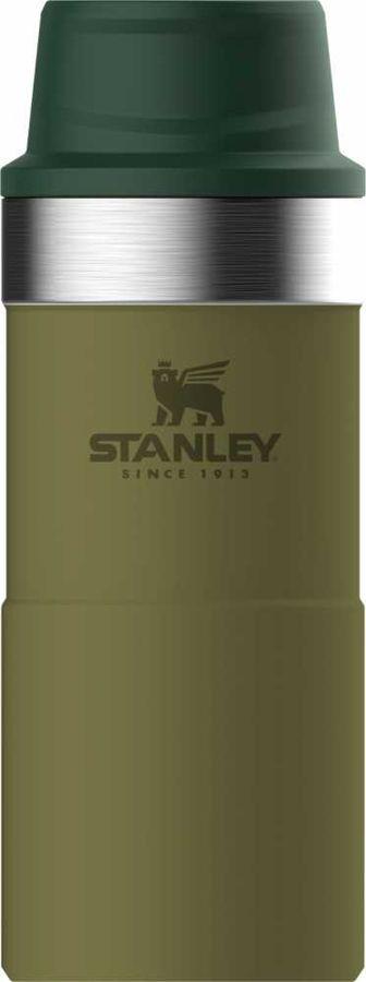 Термокружка STANLEY The Trigger-Action Travel Mug, 0.35л, оливковый