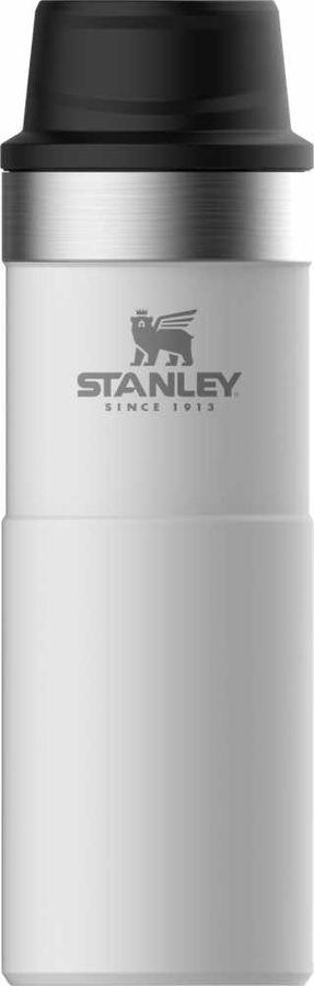 Термокружка STANLEY The Trigger-Action Travel Mug, 0.47л, белый