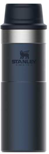Термокружка STANLEY The Trigger-Action Travel Mug, 0.47л, синий