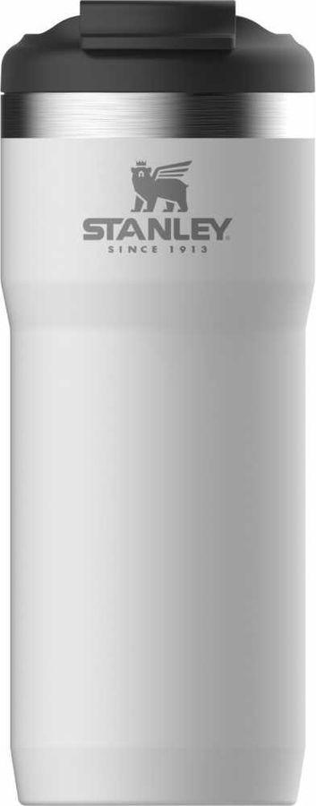 Термокружка STANLEY The Twin-Lock Travel Mug, 0.47л, белый