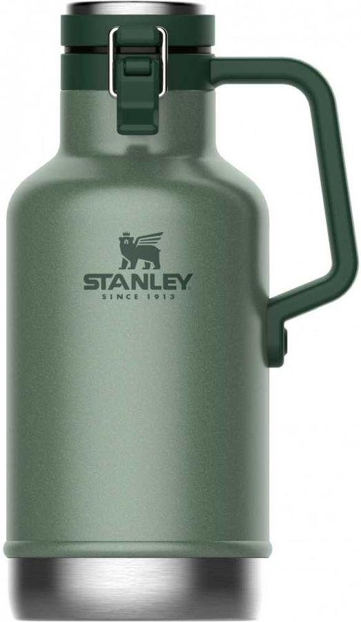 Термос STANLEY The Easy-Pour Beer Growler, 1.9л, зеленый