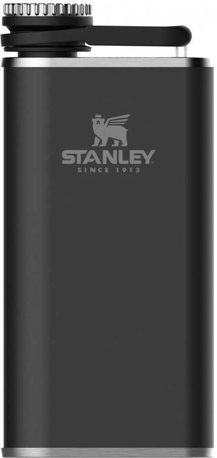 Фляга STANLEY The Easy-Fill Wide Mouth Flask, 0.23л, черный