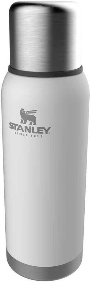 Термос STANLEY Adventure Bottle, 1л, белый