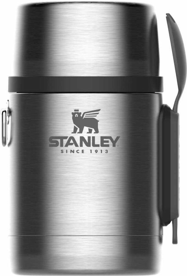 Термос STANLEY Adventure Vacuum Food Jar, 0.53л, серебристый