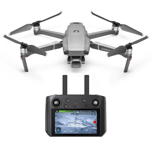 Квадрокоптер DJI Mavic 2 Pro Smart Controller с камерой,  серый [cp.ma.00000015.01]