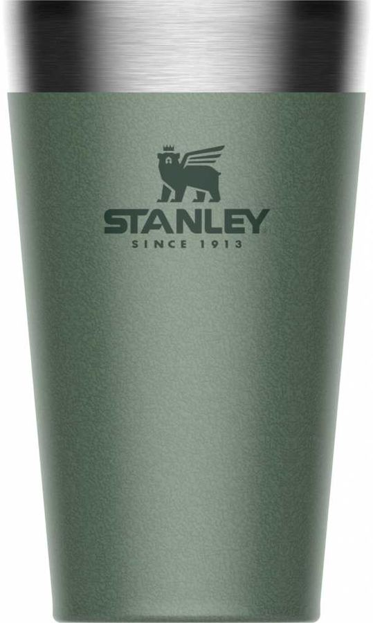 Термостакан STANLEY Adventure Stacking Vacuum Pint, 0.47л, зеленый