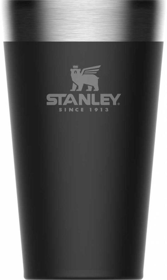 Термостакан STANLEY Adventure Stacking Vacuum Pint, 0.47л, черный