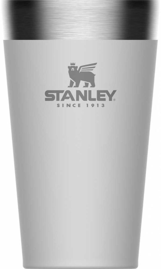 Термостакан STANLEY Adventure Stacking Vacuum Pint, 0.47л, белый