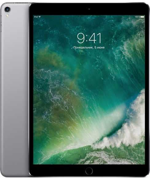 "Планшет APPLE iPad Pro 2017 10.5"" 512Gb Wi-Fi MPGH2/A,  4GB, 512Гб, iOS темно-серый"