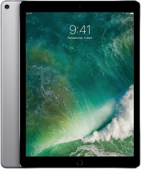 "Планшет APPLE iPad Pro 2017 12.9"" 64Gb Wi-Fi + Cellular MQED2/A,  4GB, 64GB, 3G,  4G,  iOS темно-серый"