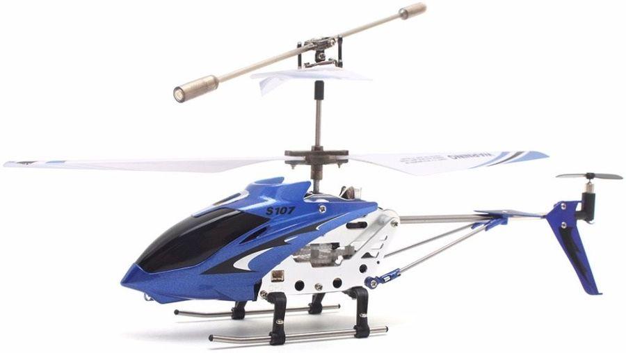 Квадрокоптер SYMA S107G без камеры,  синий [s107g blue]