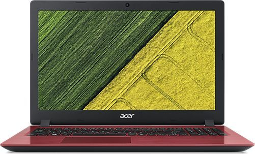 "Ноутбук ACER Aspire 3 A315-53-386T, 15.6"",  Intel  Core i3  7020U 2.3ГГц, 4Гб, 128Гб SSD,  Intel HD Graphics  620, Windows 10 Home, NX.HAEER.003,  красный"