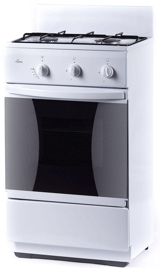 Газовая плита FLAMA CG 32010 W,  газовая духовка,  белый