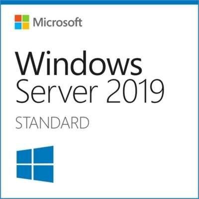 Операционная система MICROSOFT Windows Server 2019 Standard,  64 bit, Eng, BOX, DVD [p73-07680]