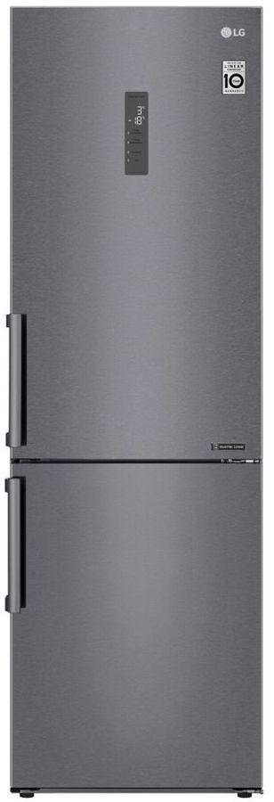 Холодильник LG GA-B459BLGL,  двухкамерный, графит темный