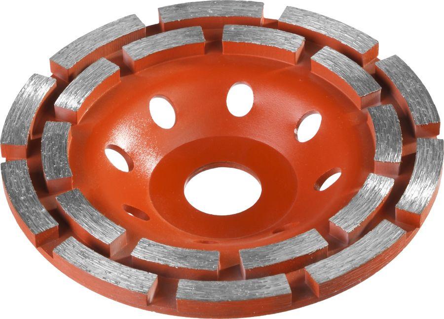 Чашка ЗУБР 33376-125,  по бетону,  125мм,  22.2мм