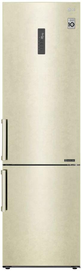 Холодильник LG GA-B509BEGL,  двухкамерный, бежевый