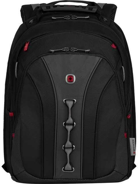Рюкзак Wenger черный/серый 600631 35x45x25см 21л. 1.32кг.
