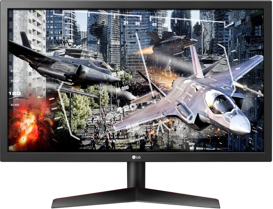 """Монитор игровой LG Gaming 24GL600F-B 23.6"""" черный [24gl600f-b.aruz]"""