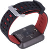 """Смарт-часы REKAM Bizzaro F610,  42.6мм,  1.3"""",  черный/серебристый / черный [2202000014] вид 4"""