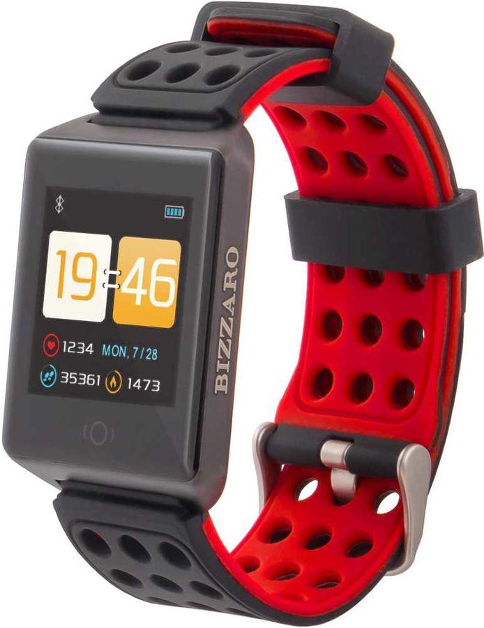 """Смарт-часы REKAM Bizzaro F650,  1.3"""",  черный / черный [2202000011]"""