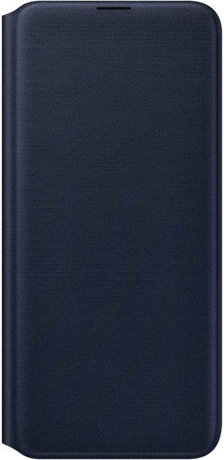 Чехол (флип-кейс) SAMSUNG Wallet Cover, для Samsung Galaxy A20, черный [ef-wa205pbegru]