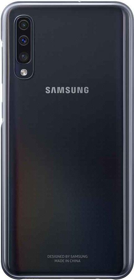 Чехол (клип-кейс) SAMSUNG Gradation Cover, для Samsung Galaxy A50, черный [ef-aa505cbegru]