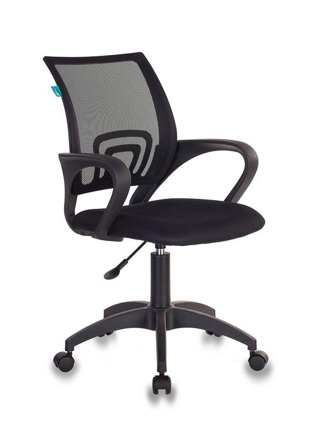Кресло БЮРОКРАТ CH-695KLT, на колесиках, ткань [ch-695klt/black]