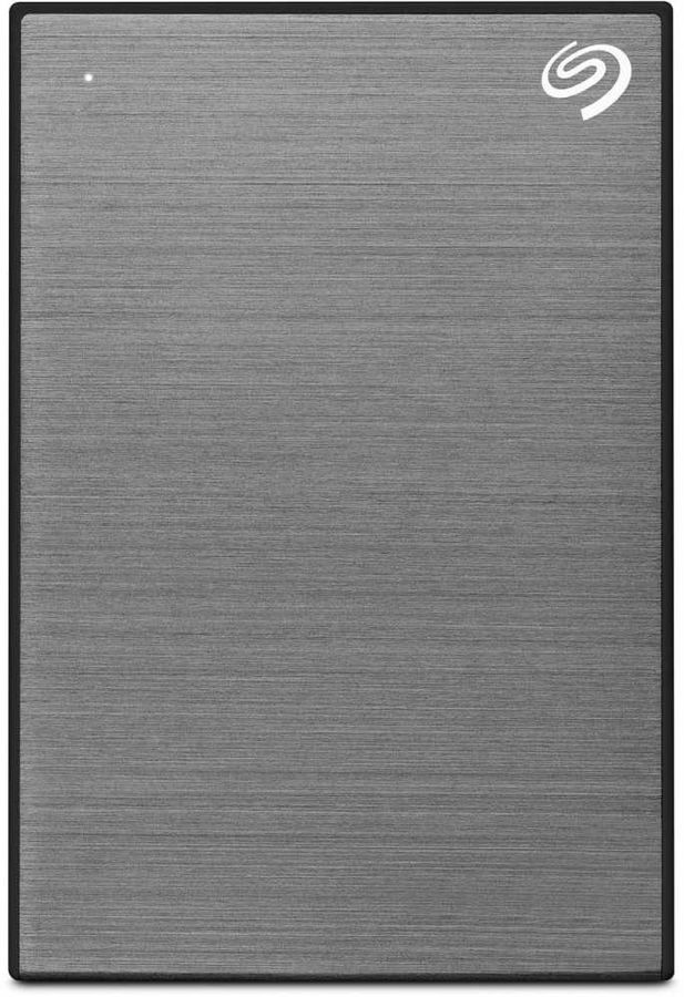 Внешний жесткий диск SEAGATE Backup Plus Slim STHN1000405, 1Тб, серый