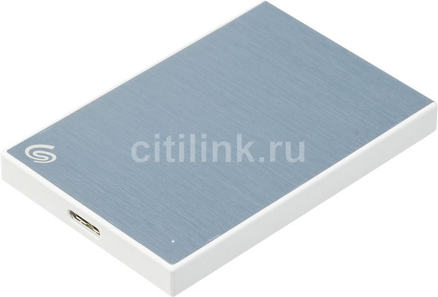 Внешний жесткий диск SEAGATE Backup Plus Slim STHN2000402, 2Тб, синий