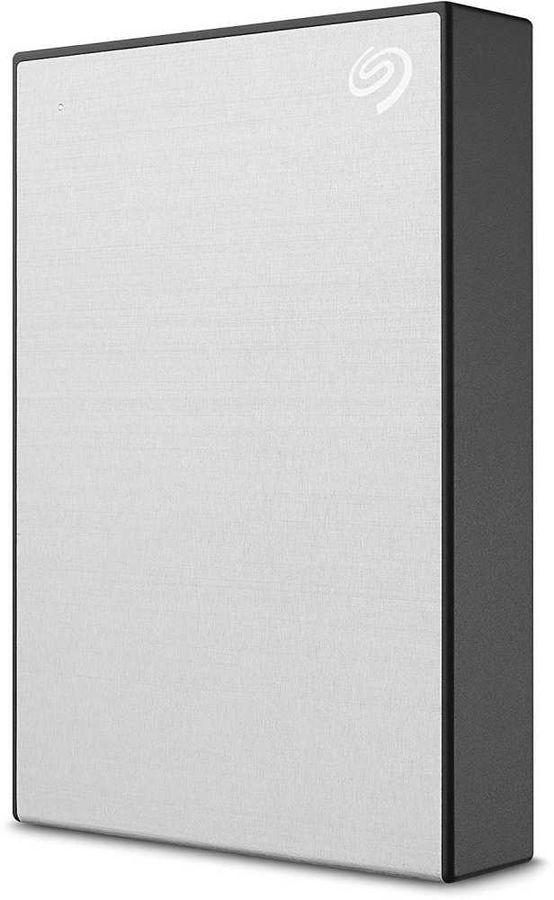 Внешний жесткий диск SEAGATE Backup Plus STHP4000401, 4Тб, серебристый