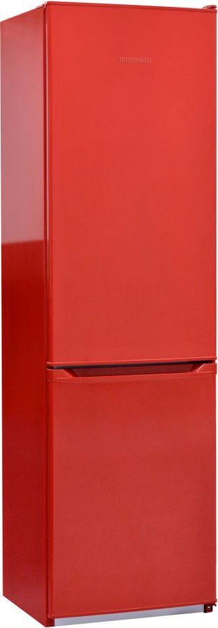 Холодильник NORDFROST NRB 110 832,  двухкамерный, красный [00000256544]